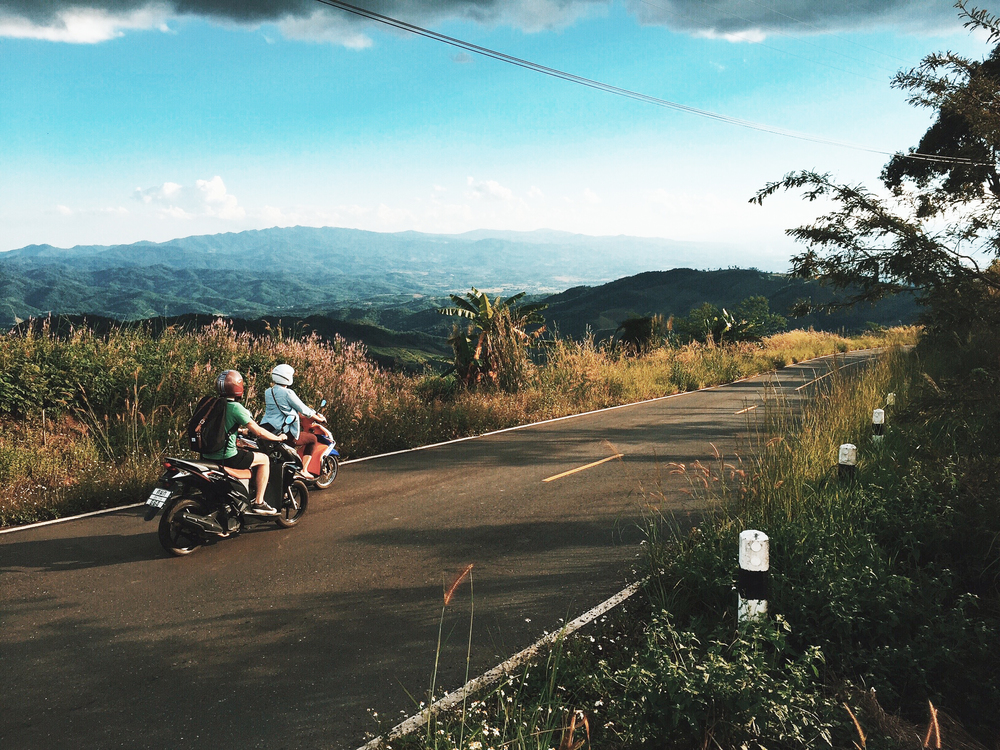 From our motorcycle adventures in Chiang Rai, Thailand