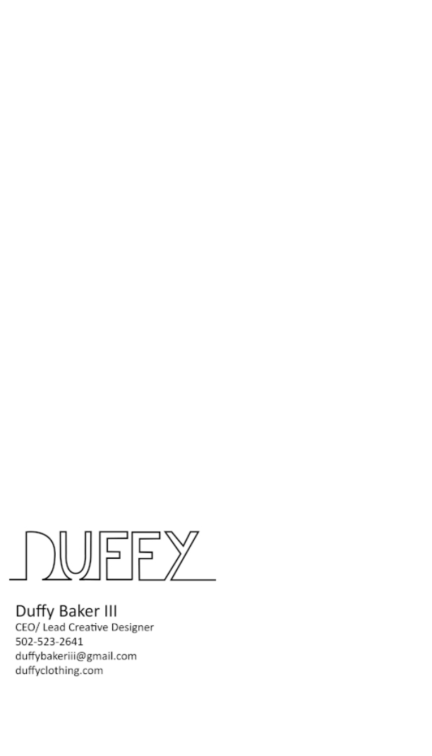 Business Cards — Duffy