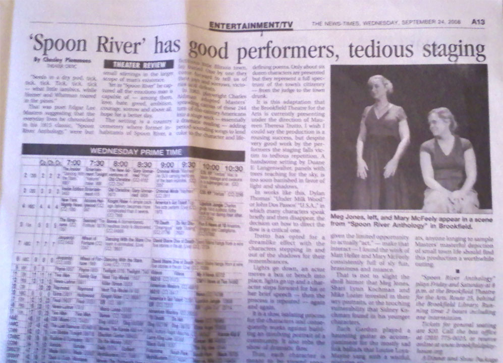 The News Times - Spoon River  9-24-08.jpg
