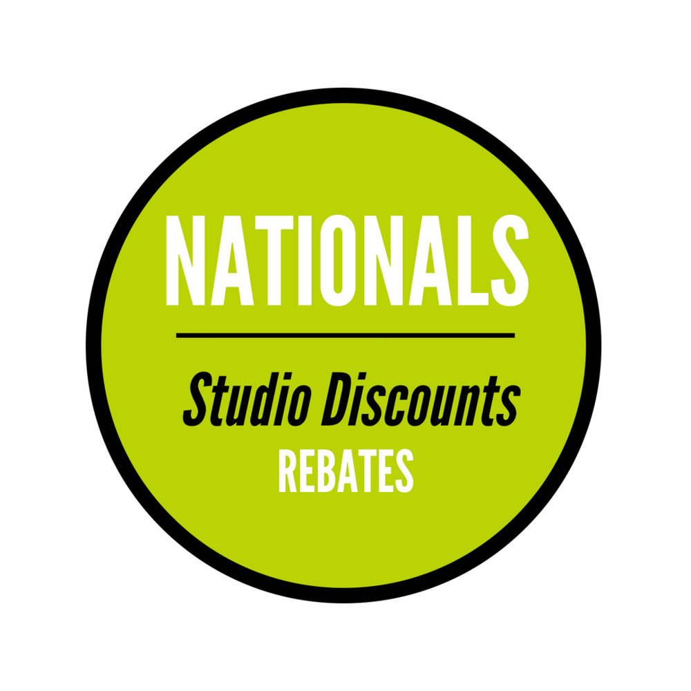 Nationals Studio Discounts