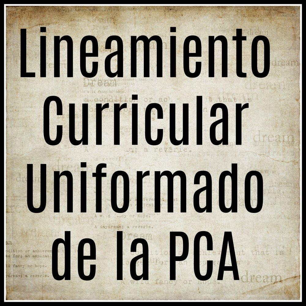 Lineamiento Curricular Uniformado de la PCA.jpg
