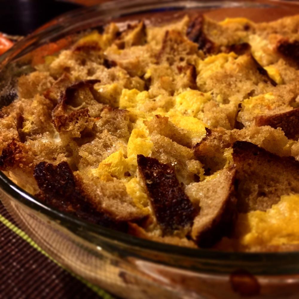 Sidecar Bread Pudding