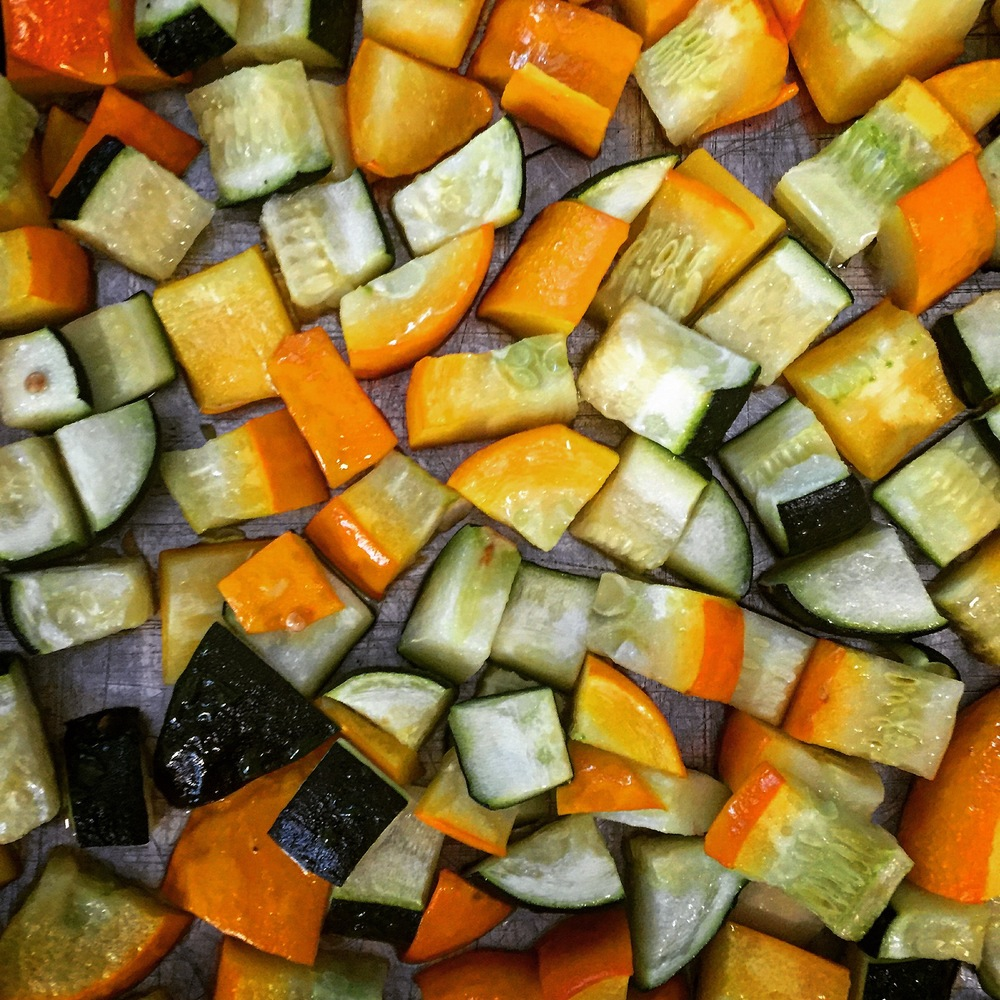 Roasted Courgette
