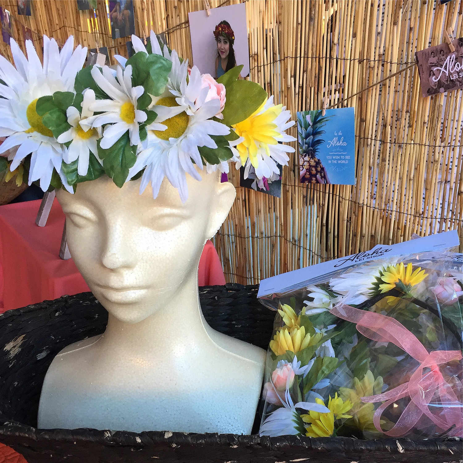 The real snapchat filter faux flower crown aloha lei shop the real snapchat filter faux flower crown izmirmasajfo