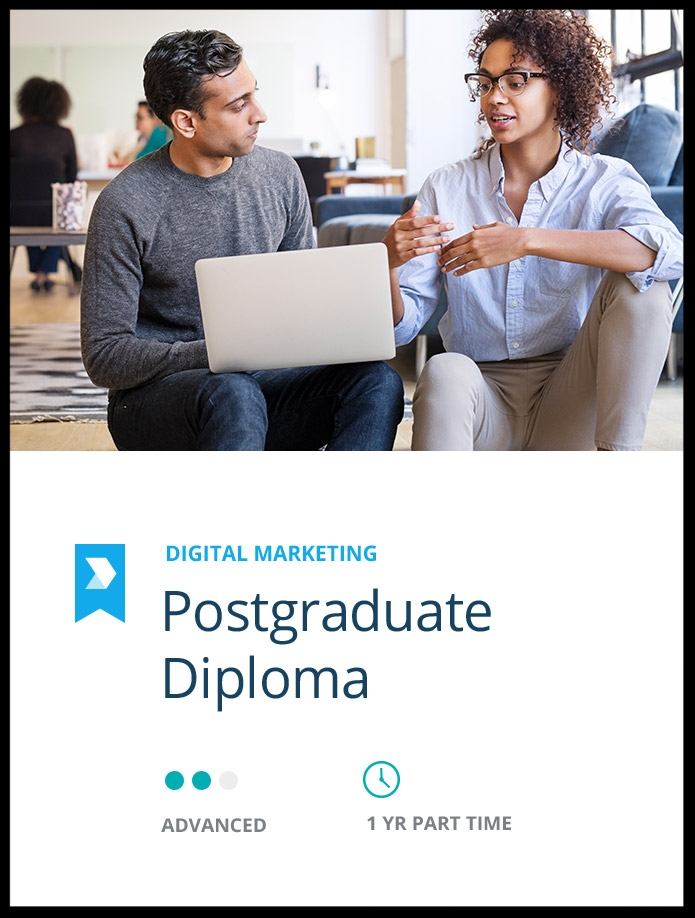 Become a  Certified Digital Marketing Leader  through this postgraduate diploma.