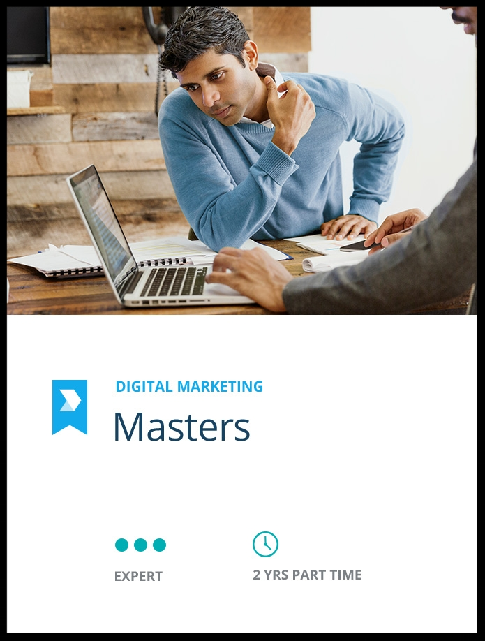 Become a  Certified Digital Marketing Master  through this master's degree programme.