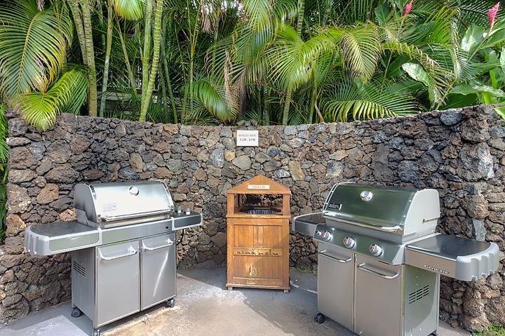 Aina Nalu D108 | Resort Features | BBQ