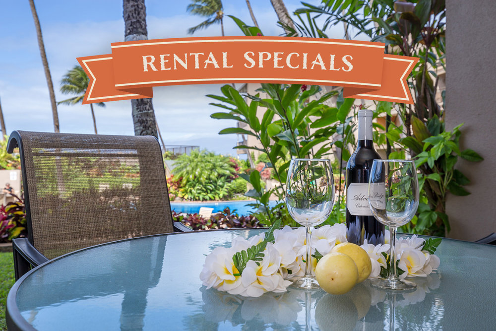 Our Best Deals of the Year - Get 6th Night FREE on Select Condos.Includes all locations!Book now through December 15 to get our lowest rates on these lovely Maui condos. Act now before the best dates are gone!