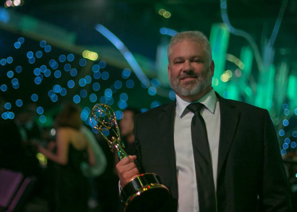 Same suit, different Emmy: Emmy Number 3, Outstanding Cinematography For Reality Programming, Deadliest Catch Season 10
