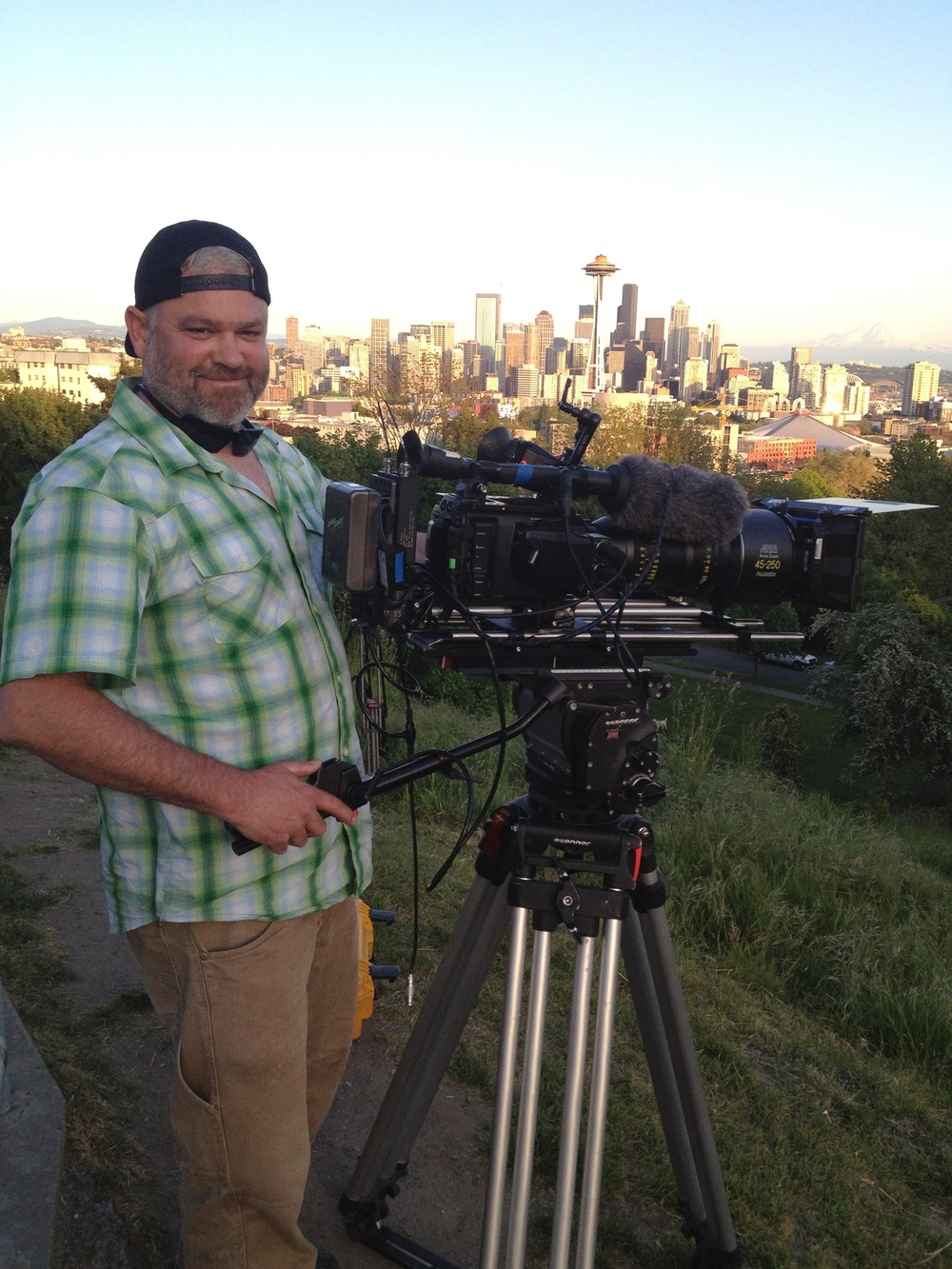Shooting b-roll in Seattle with the Sony F55 and some epic cine glass.