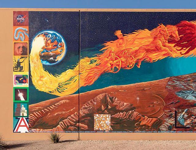 Phoenix Mars Mission Mural #TucsonStreetArt