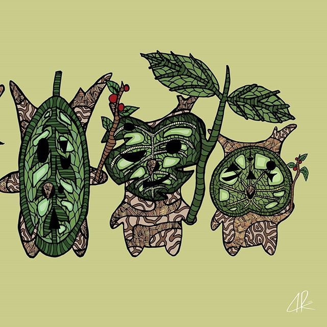 KOROKS ♡ 3/3 (Click okami.ink for whole panel) . . . #link #zelda #legendofzelda #BOTW #fanart #korok #korokseeds #art #artist #doodles #doodle #instaart #instadoodle #instadraw #artoftheday #ink #inkart #illustration #illustration_best #artapproved #art_we_inspire #sharingart #sketch #zentangle #patterns #followforart #okamiink #drawing #draw