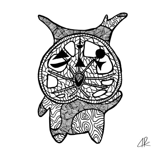 KOROK 9 ♡ . . . #link #zelda #legendofzelda #BOTW #fanart #korok #korokseeds #art #artist #doodles #doodle #instaart #instadoodle #instadraw #ifindbliss #artoftheday #ink #inkart #illustration #illustration_best #artapproved #art_we_inspire #sketch #zentangle #patterns #like4like #followforart #okamiink #drawing #draw
