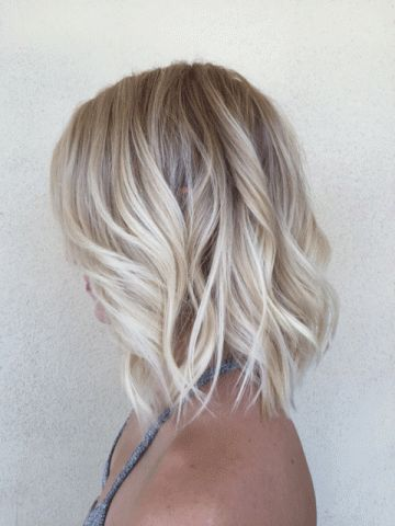 Fine hair looks fuller when shorter. Source:  Pinterest