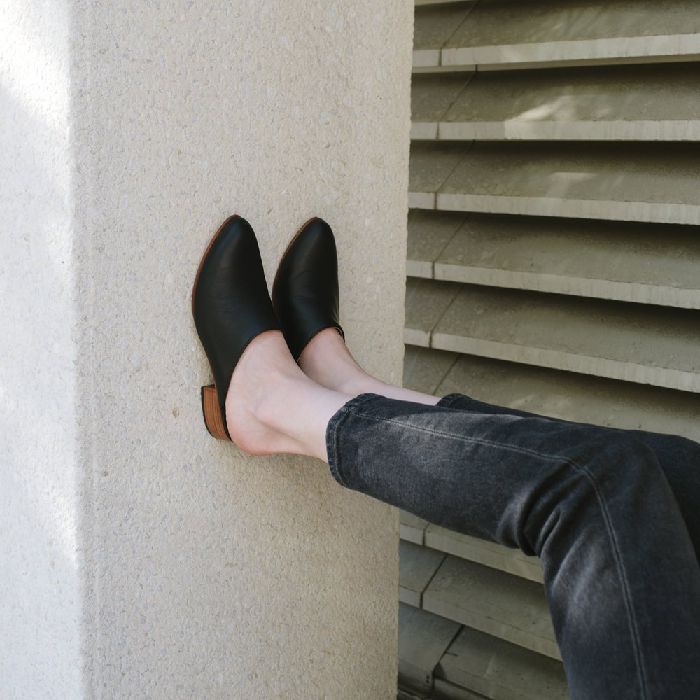 Mariella Mule in Black