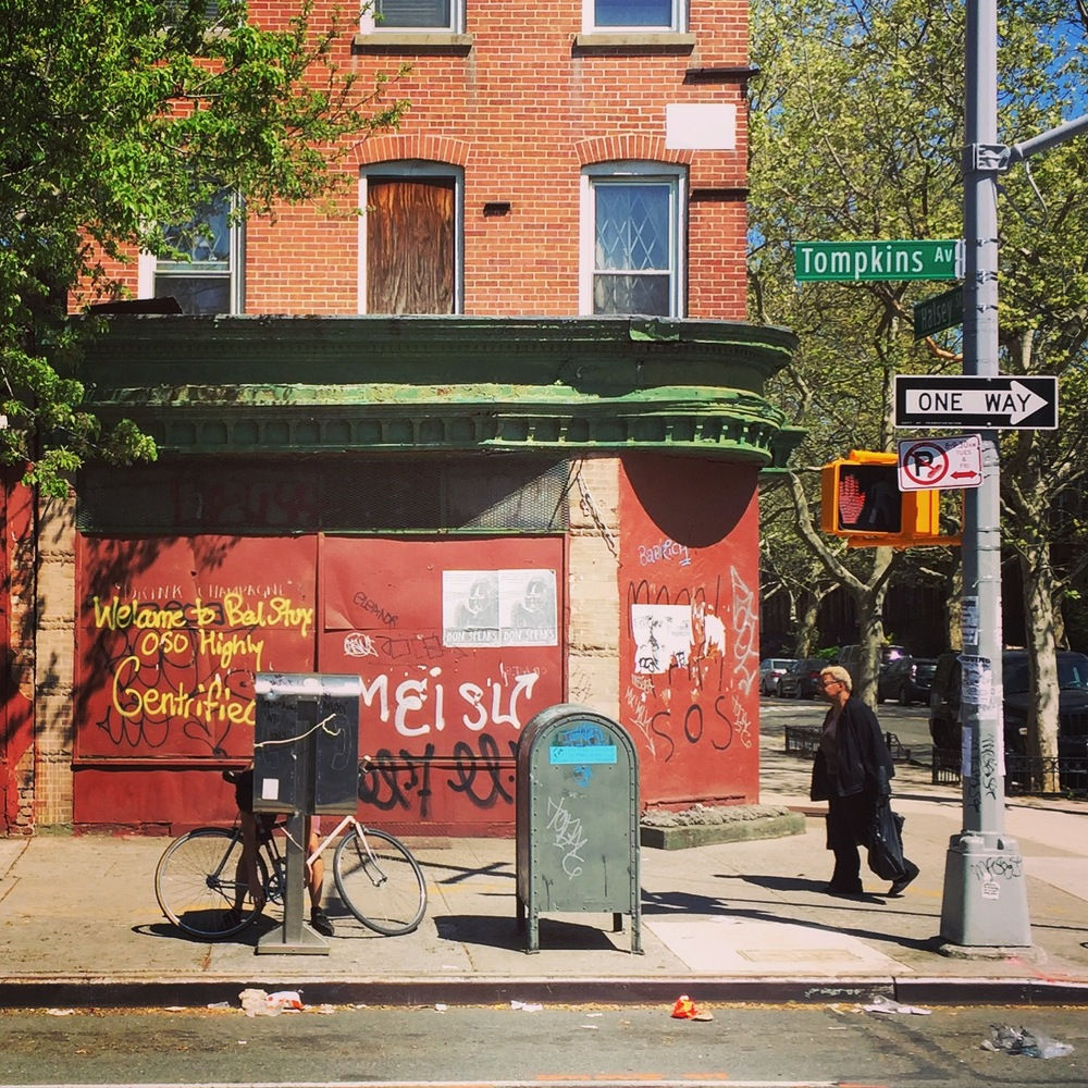 (instagram @lightitecture)  Welcome to Bedstuy. Oso highly gentrified.