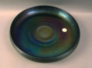"Diamond Egyptian Lustre 'ice cream shaped' bowl, 10 ½"" diameter $250"
