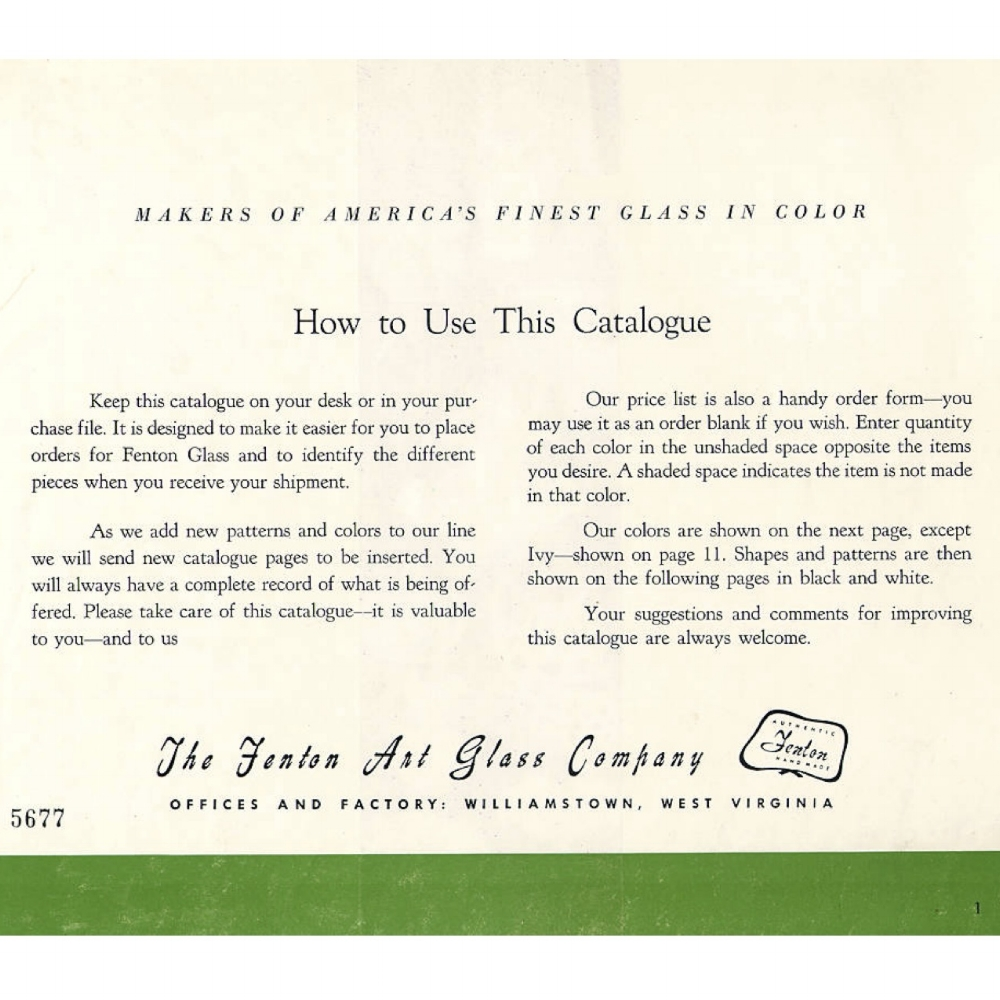 1950 Catalog