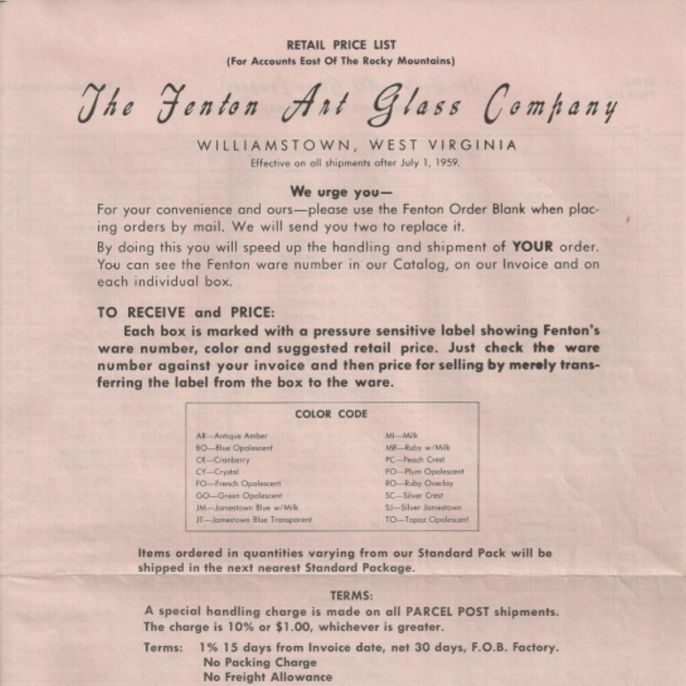 1959 July Price Guide