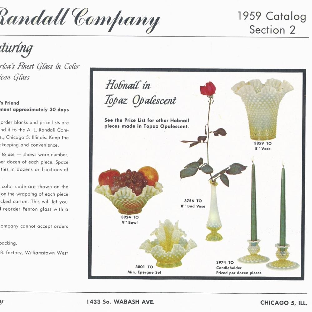 1959 Randall Catalog, Sec. 2