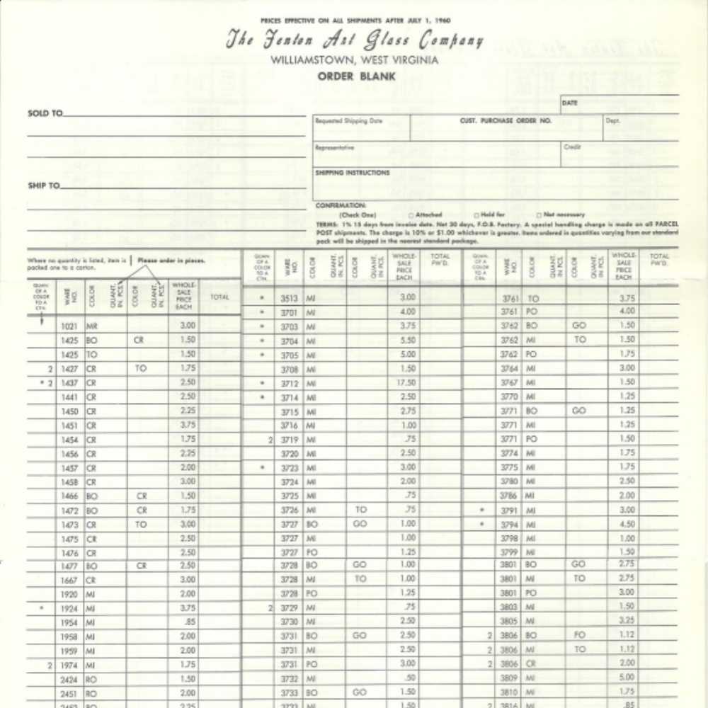 1960 July Price Guide White