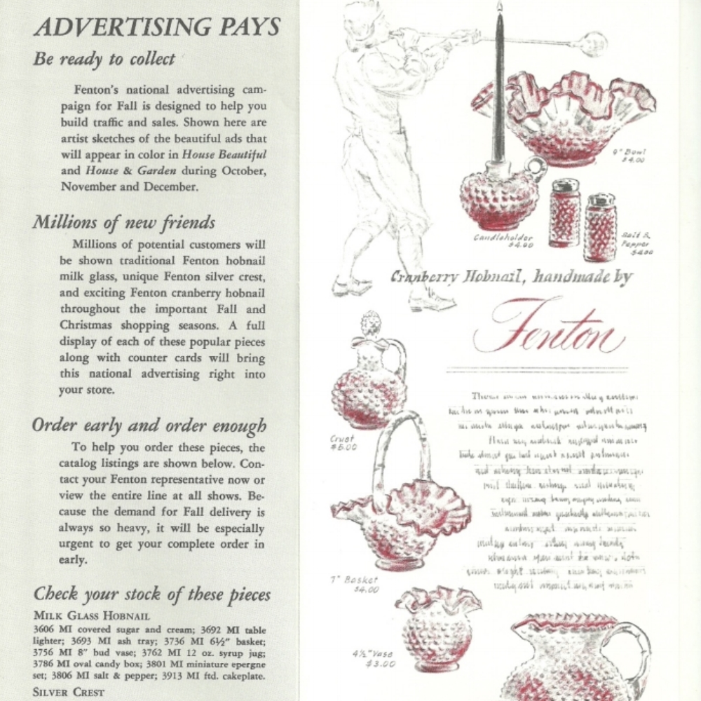 1961 Ad Preview