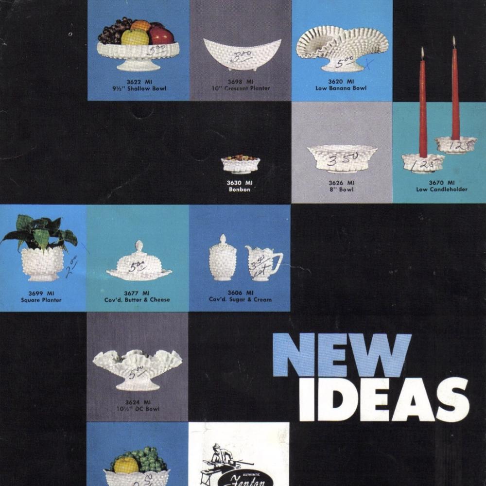 1961 January Fenton Catalog
