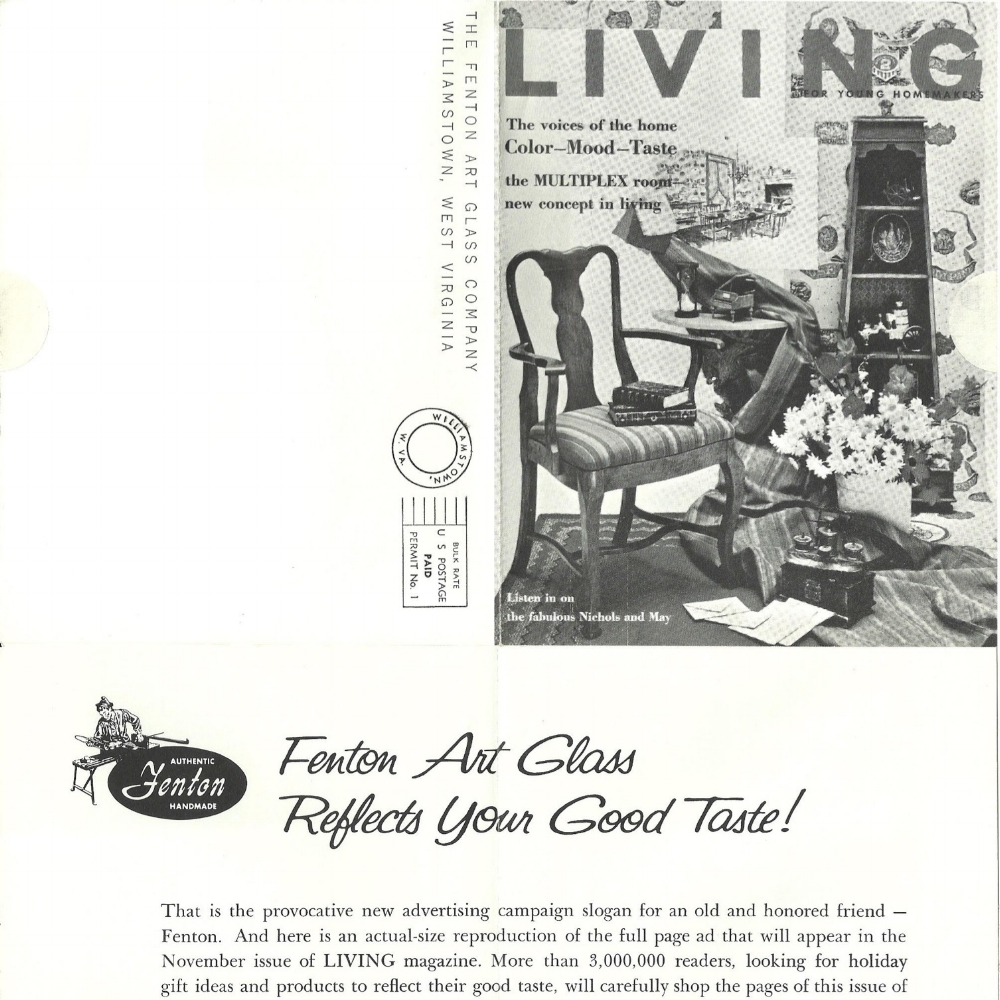 1961 Living Mag Ad Preview