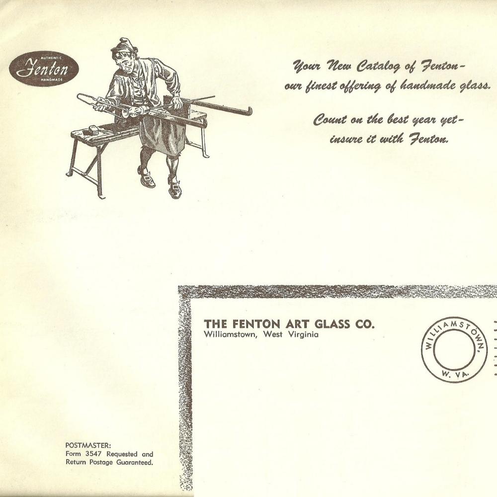 1961 Mailing Envelope