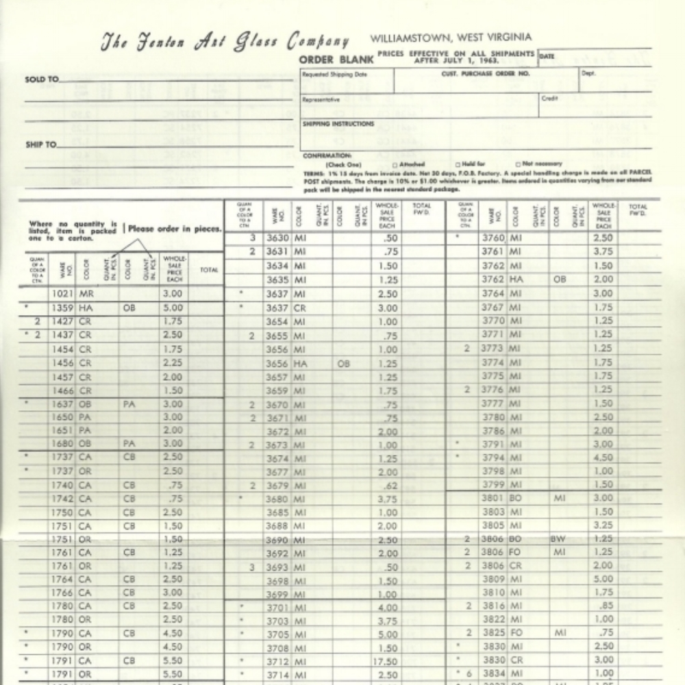 1963 July Price Guide