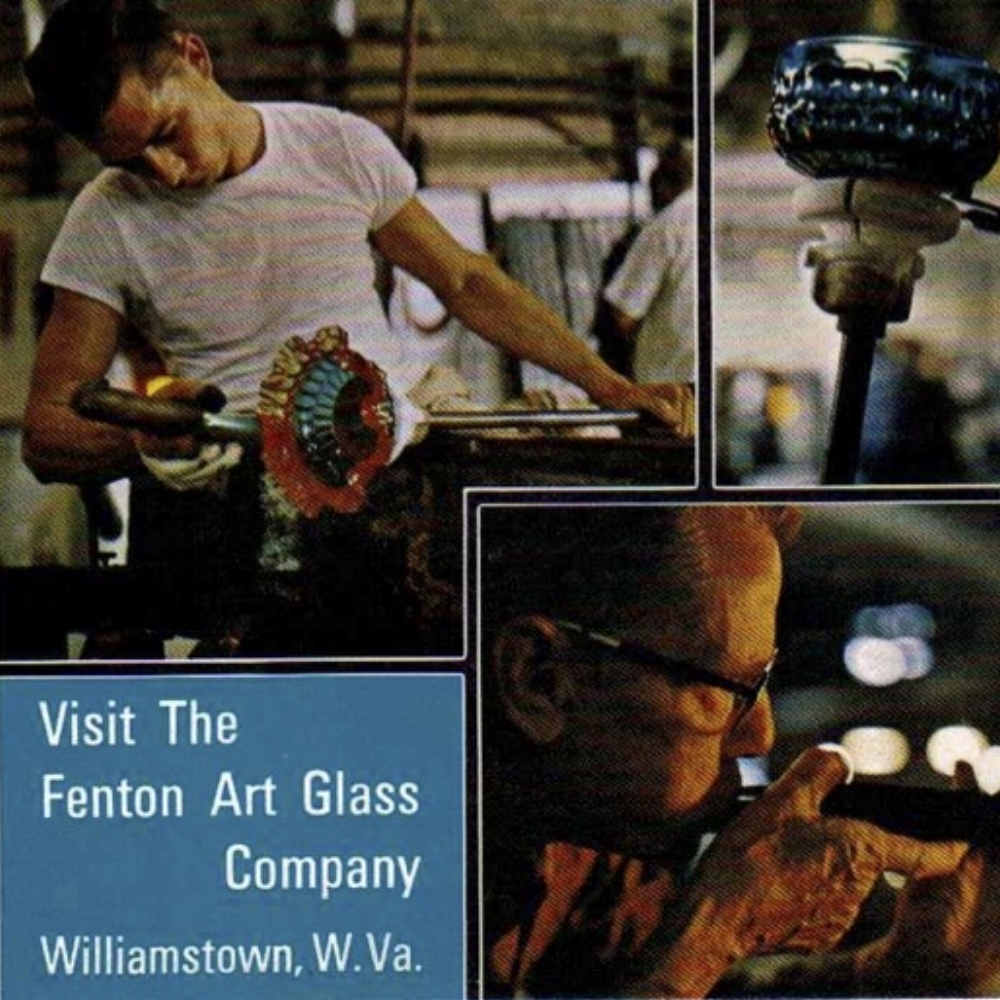 1968 Visit Fenton Post Card