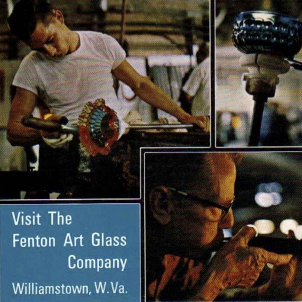1968 Visit Fenton Post Card