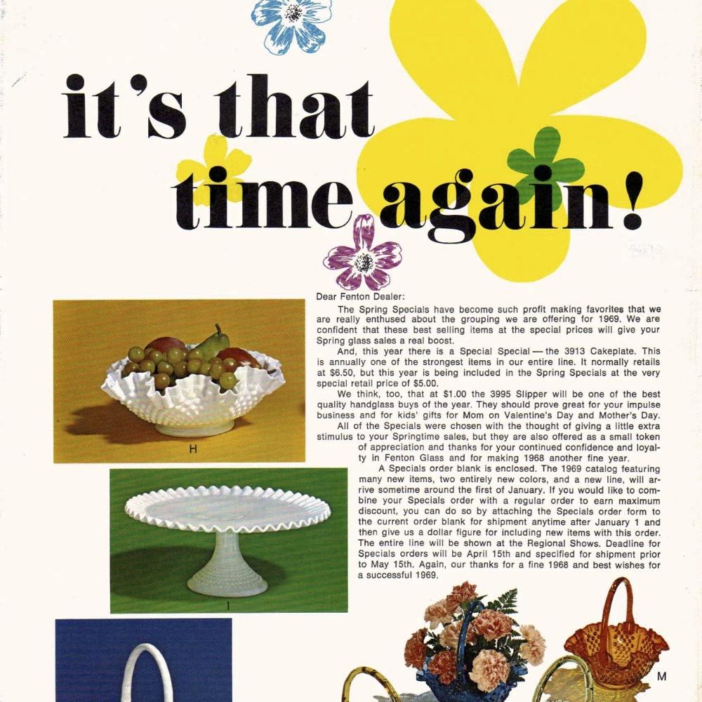 1969 Spring Specials