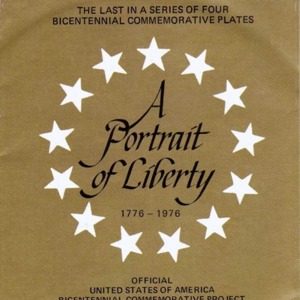 1976 Bicentennial Plate 4th in Series