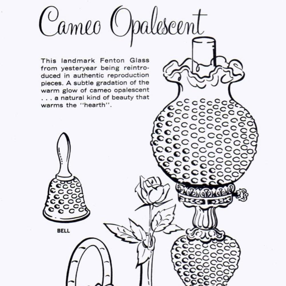 1979 Insert Cameo Opalescent