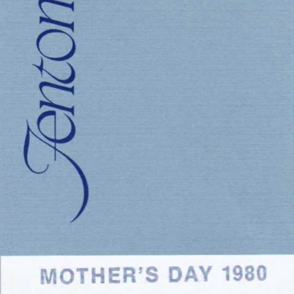 1980 Mother's Day Hang Tag