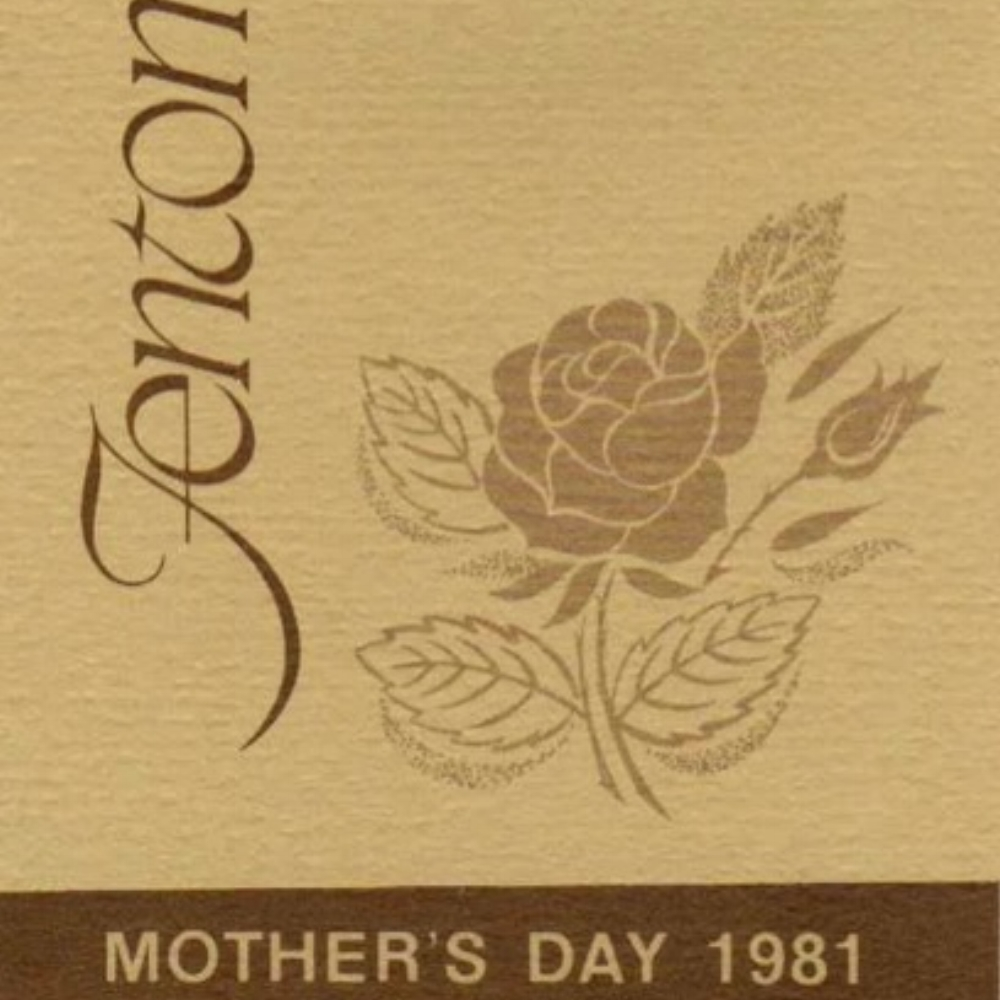 1981 Mother's Day Hang Tag