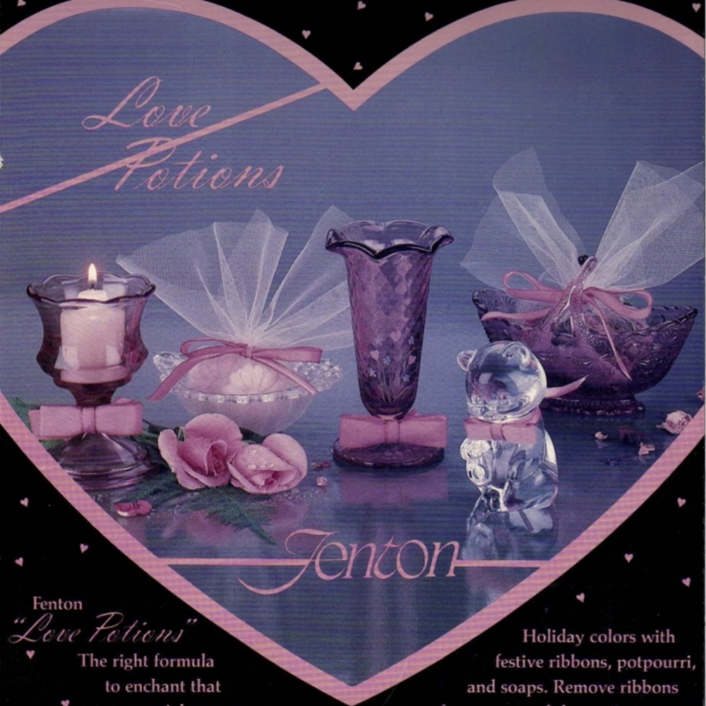 1983 Love Potions Display Card