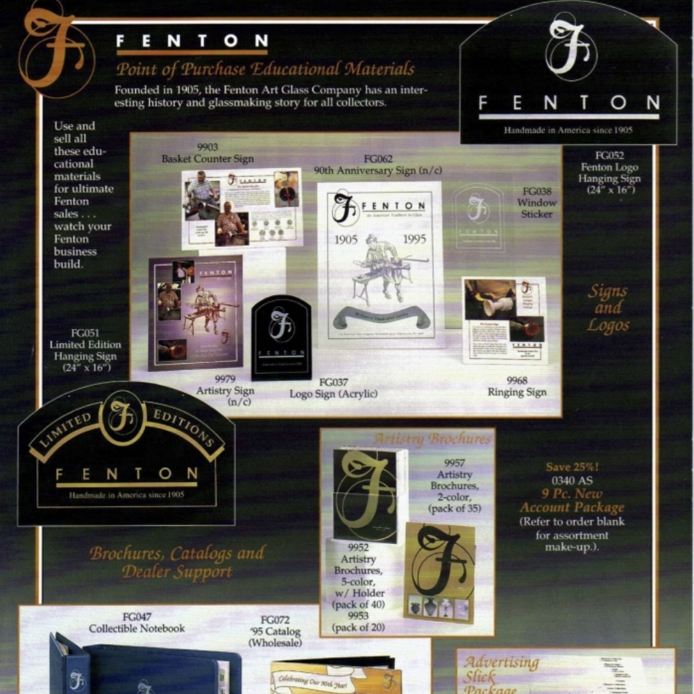1995 Advertising Materials