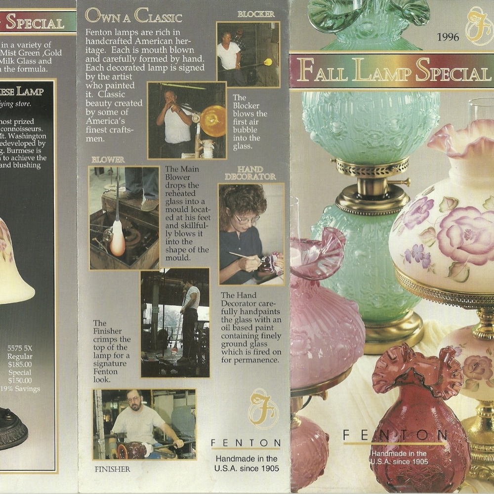 1996 Fall Lamp Special