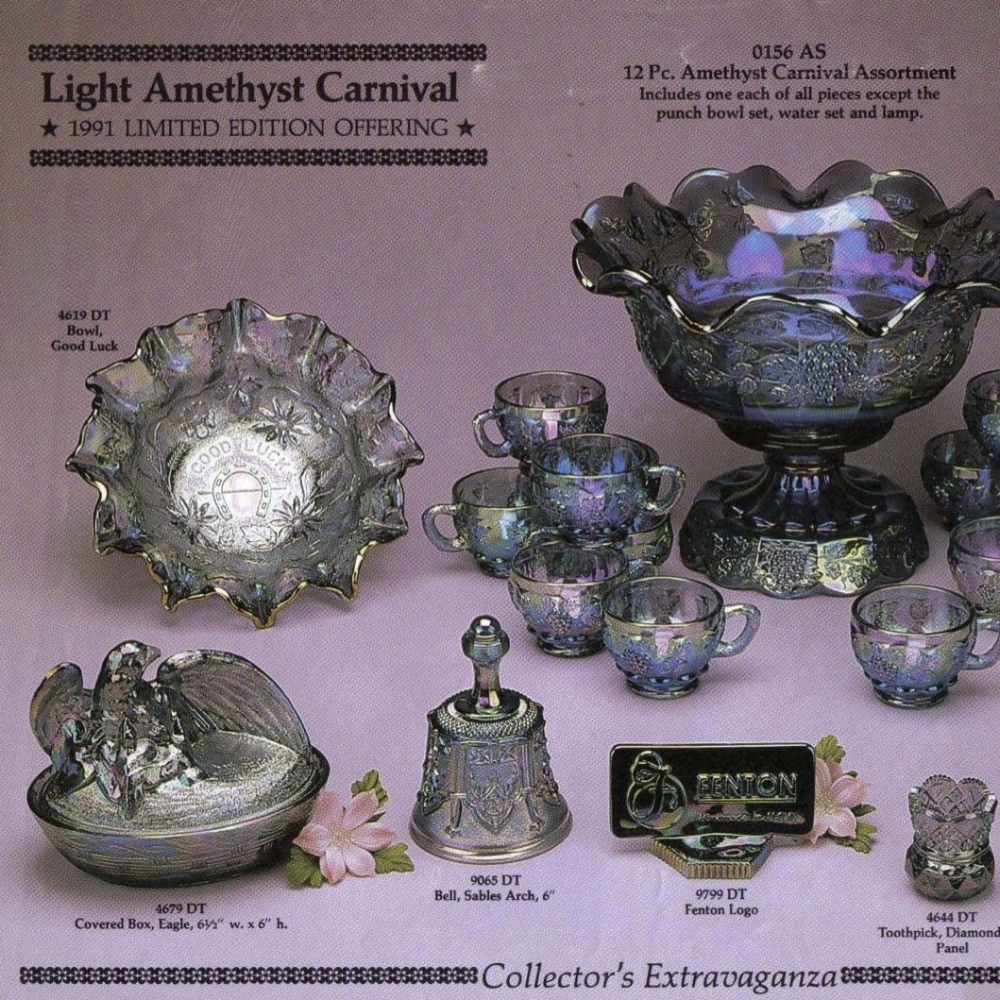 1991 Light Amethyst Carnival
