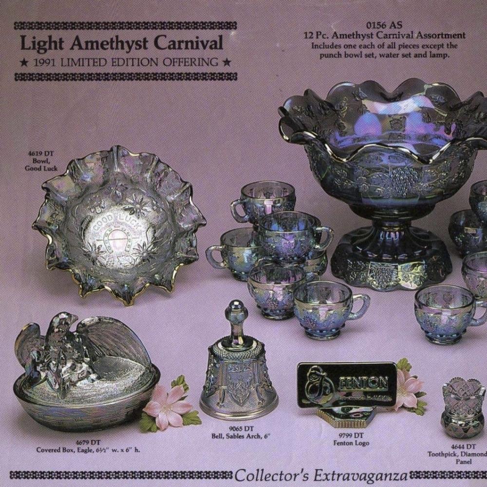 1991 Light Amethyst Carnival