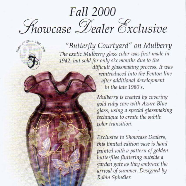 2000 Butterfly Courtyard Dealer