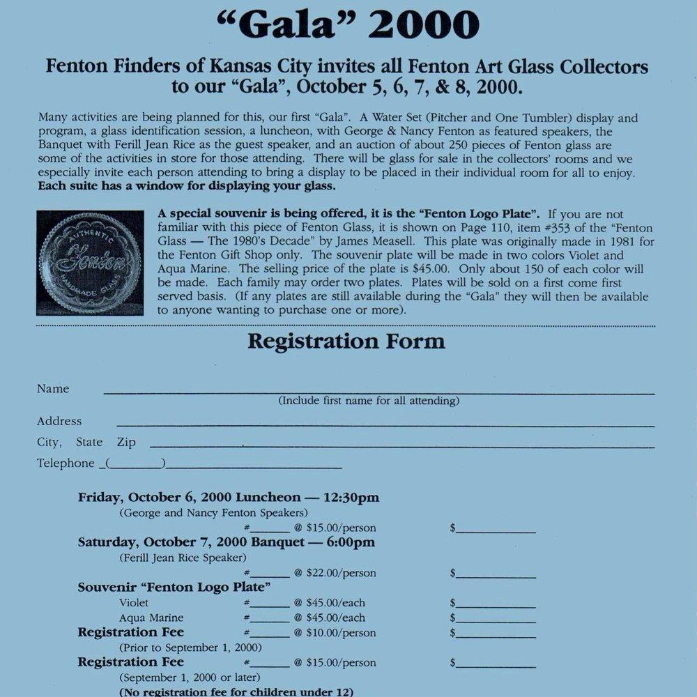 2000 FFoGKC Gala