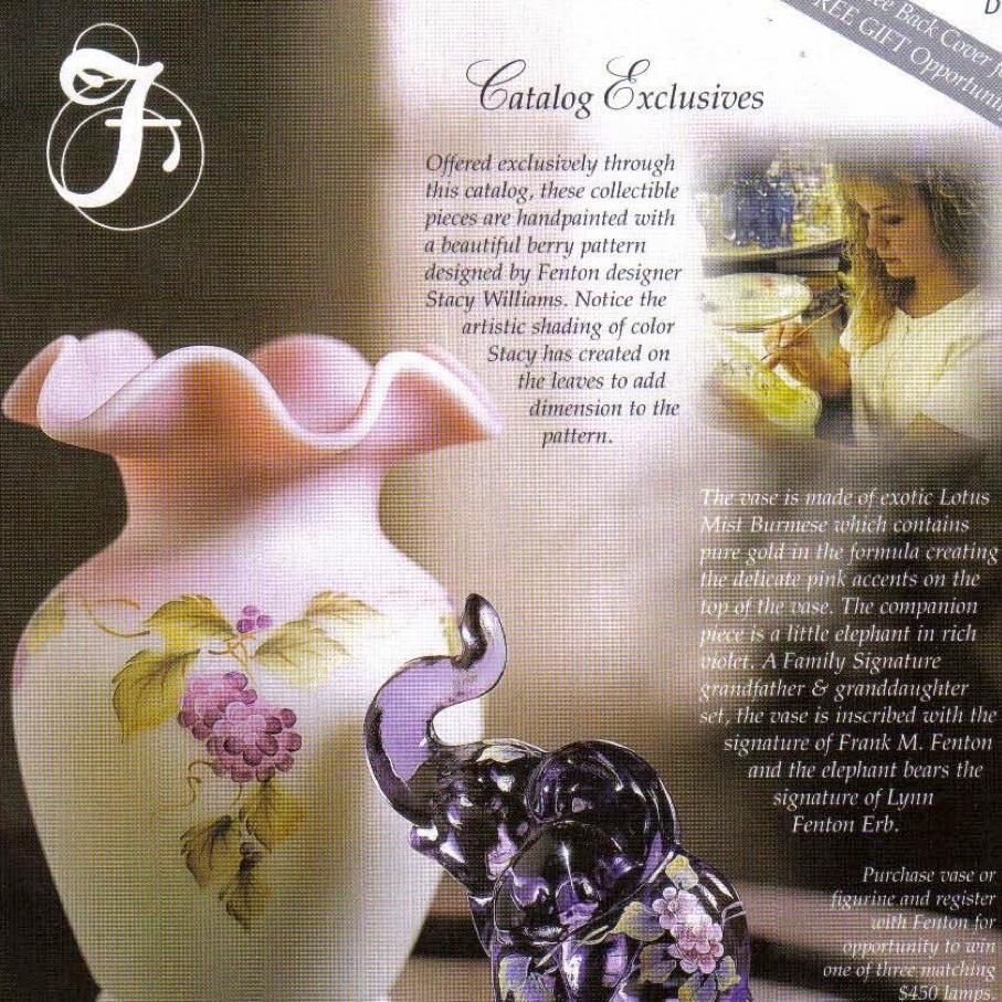 2001 Dealer Catalog
