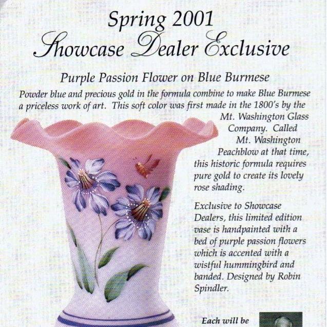 2001 Spring Dealer Exclusive