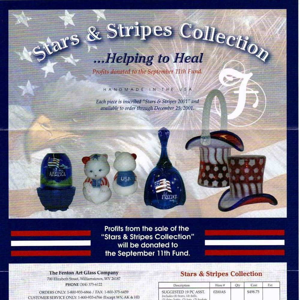 2001 Stars & Stripes Form