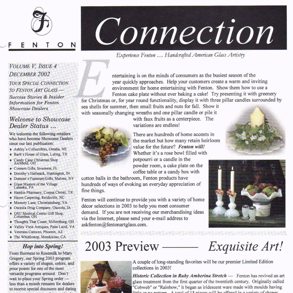 2002 Dec Fenton Connection