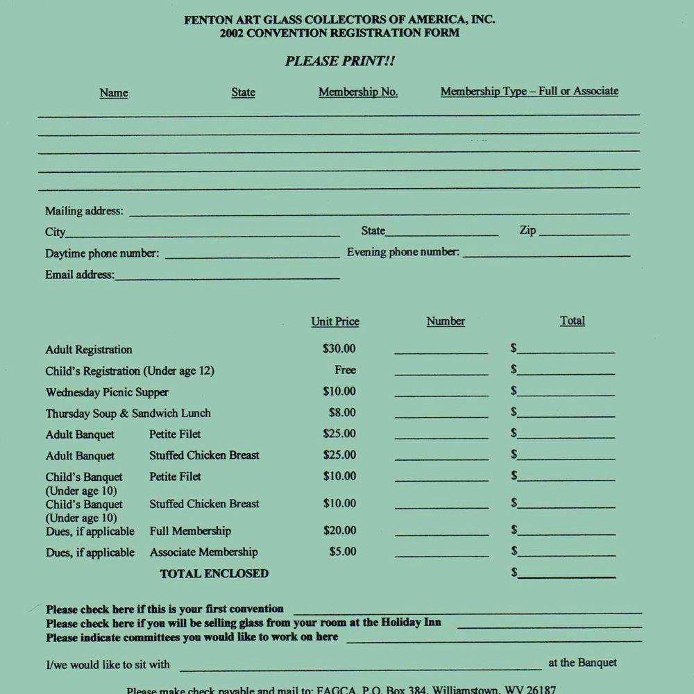 2002 FAGCA Conv Registration