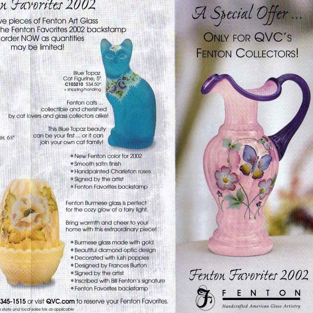 2002 Fenton Favorites Flyer